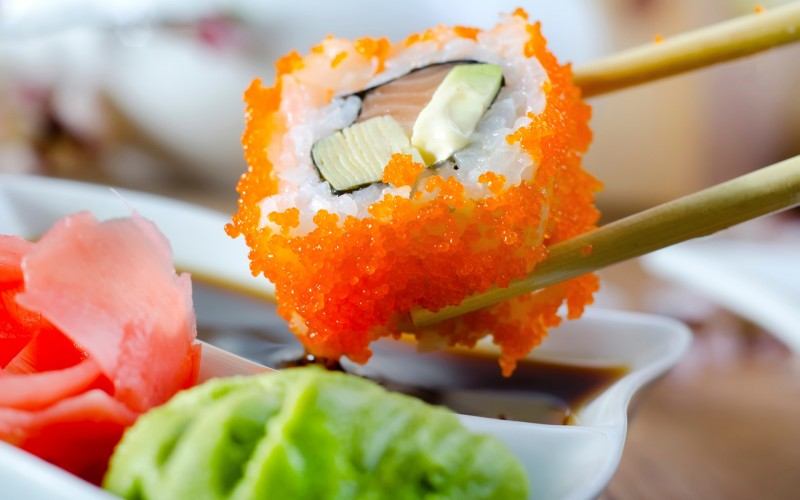 I pericoli nascosti del sushi